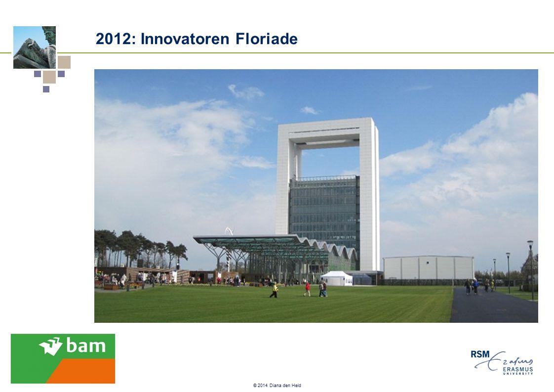 © 2014 Diana den Held 2012: Innovatoren Floriade