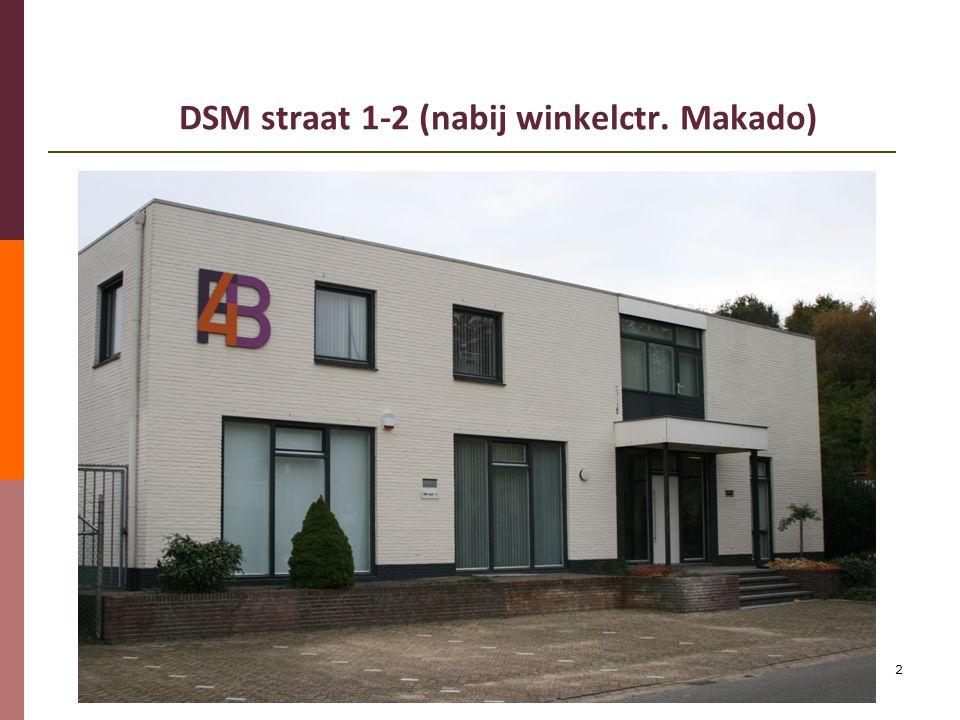 2 DSM straat 1-2 (nabij winkelctr. Makado)