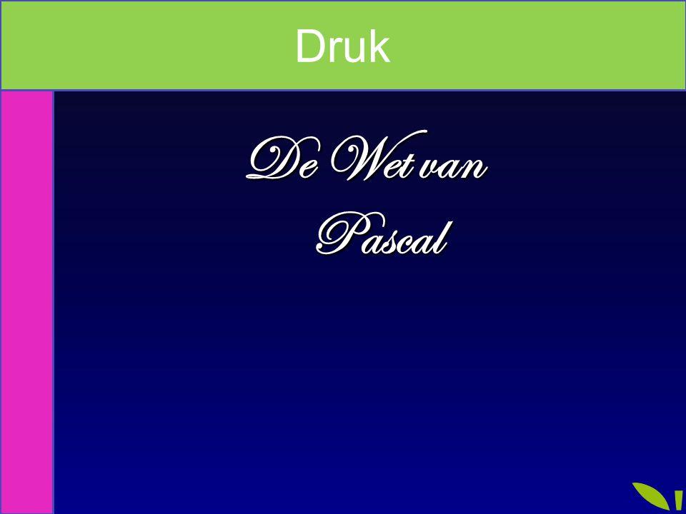 Index Druk De Wet van Pascal