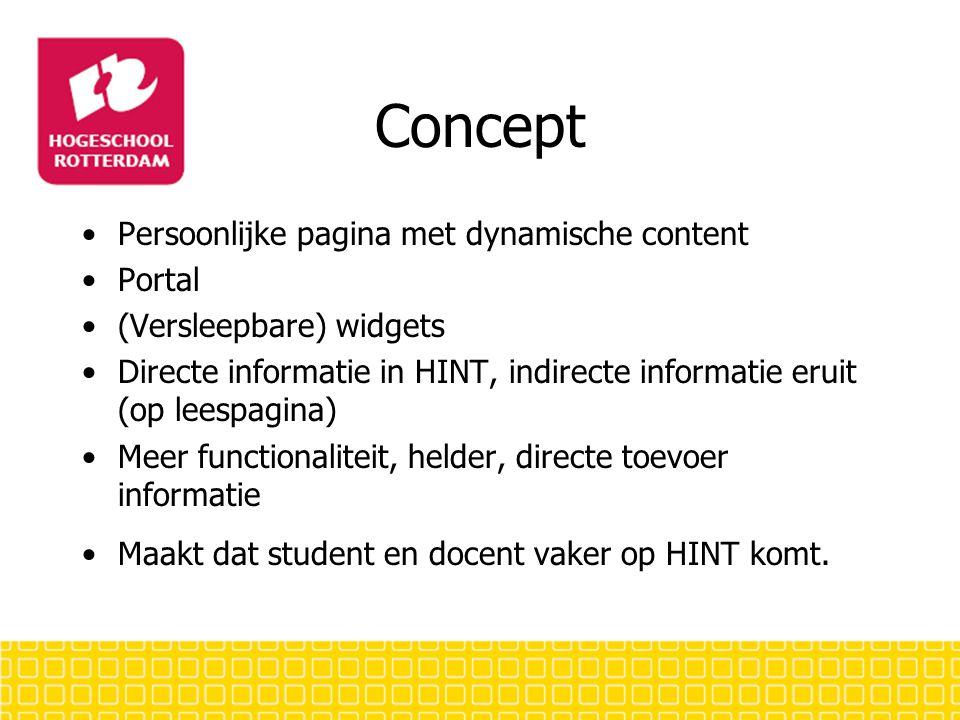 Concept Demo Clickable Demo Middels student en docent scenario