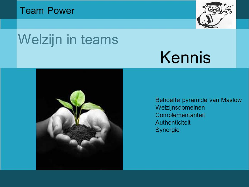 Welzijn in teams Team Power