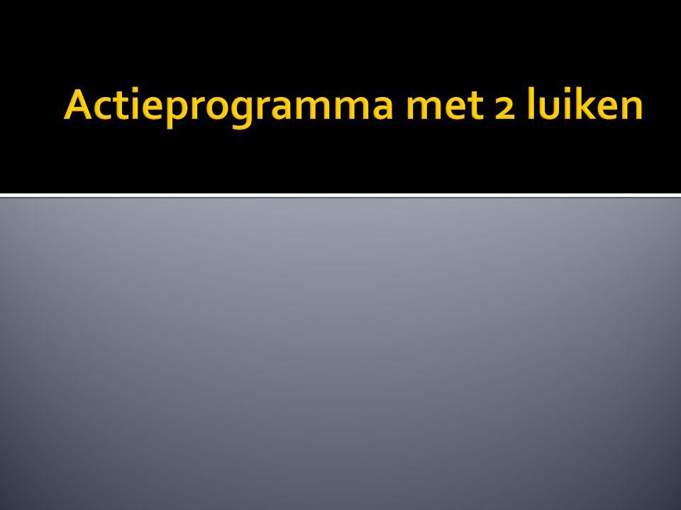  Luik 1 : verbetervoorstellen toepasbaar binnen alle processen.