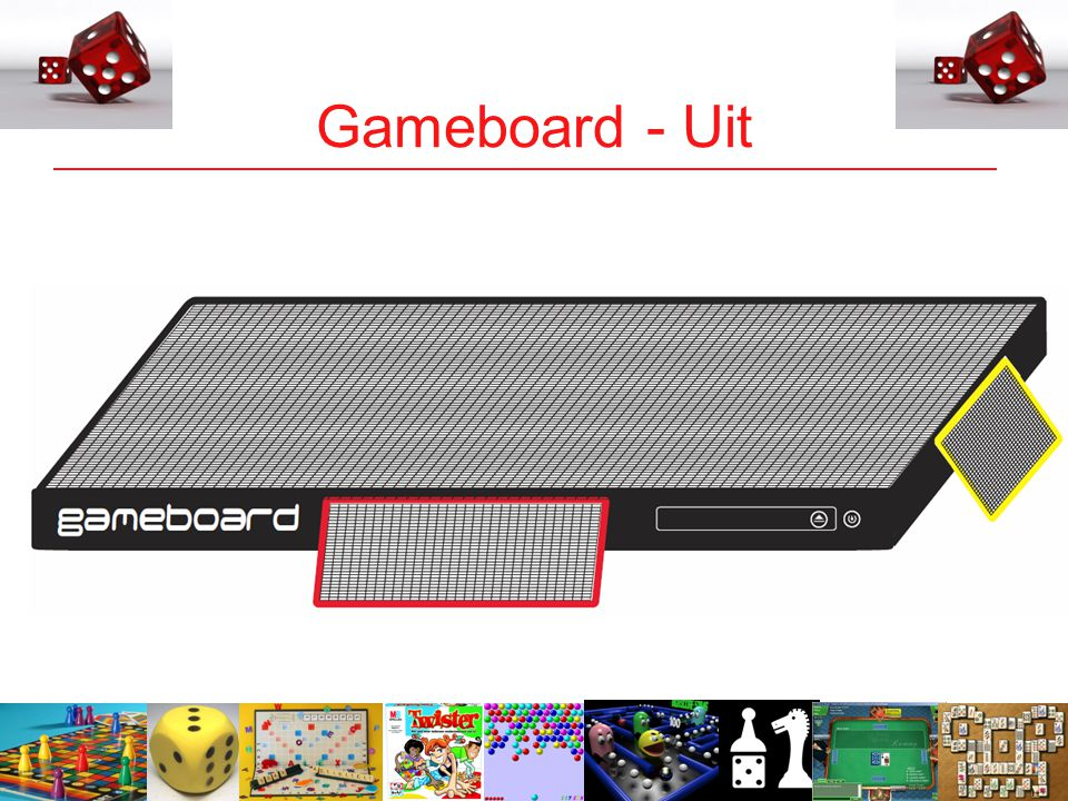 13 Gameboard - Uit