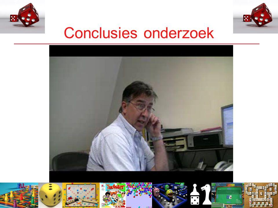 7 Conclusies onderzoek