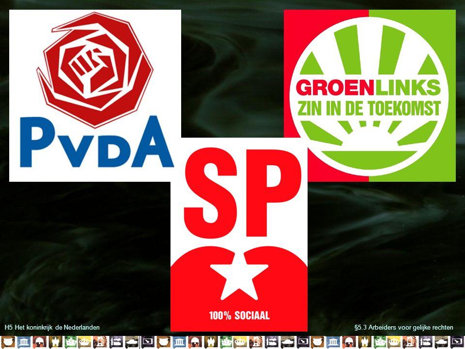 H5 Het koninkrijk de Nederlanden§5.3 Arbeiders voor gelijke rechten