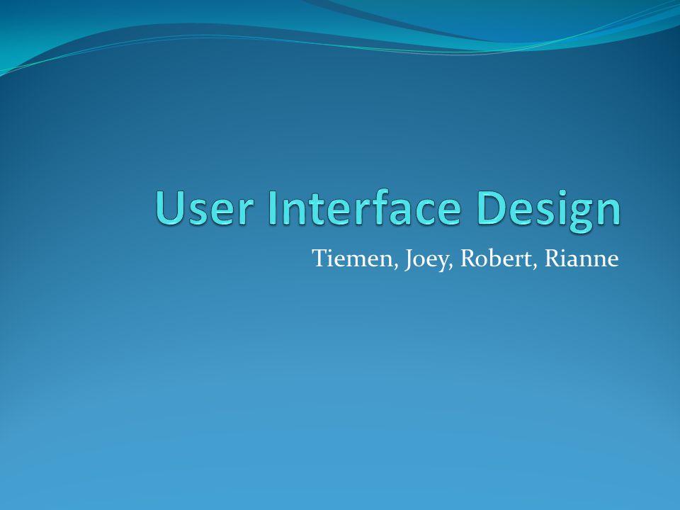 Inhoud Onderzoek Interface kiezen SWOT Prototype Testen Resultaat