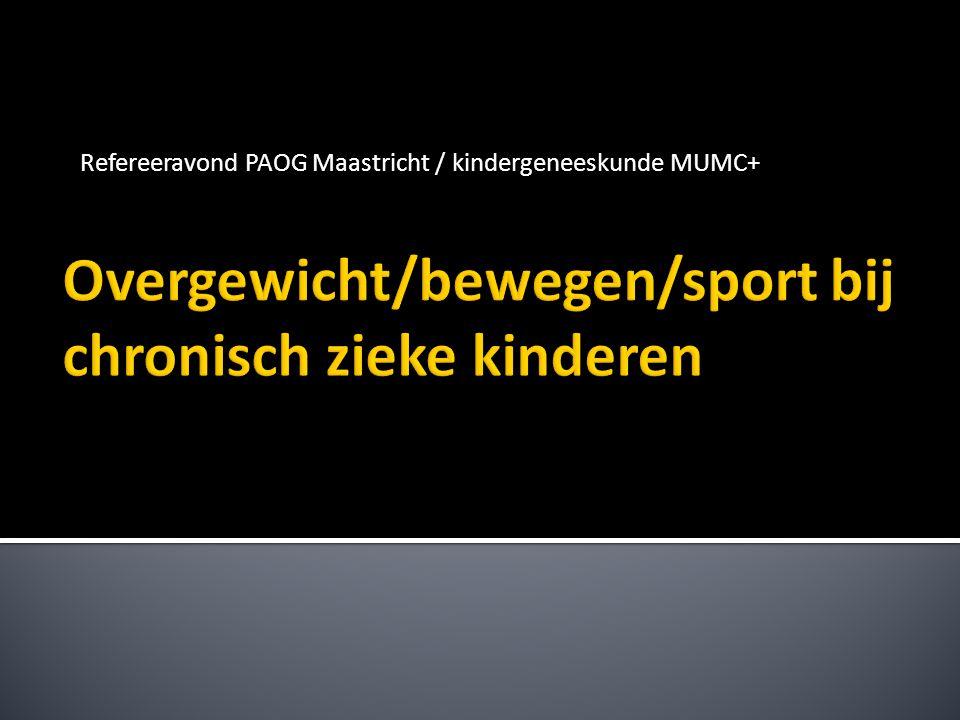 Refereeravond PAOG Maastricht / kindergeneeskunde MUMC+