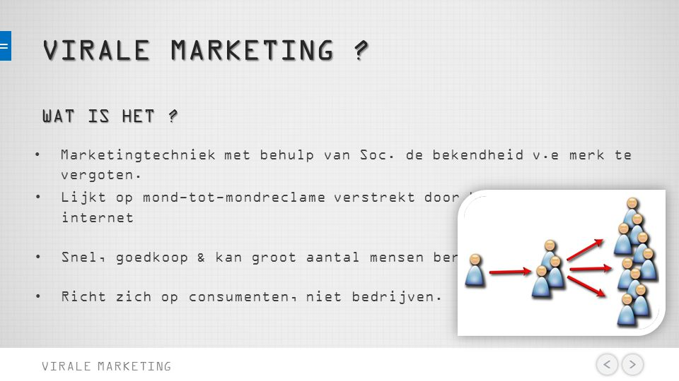 VIRALE MARKETING . VIRALE MARKETING WAT IS HET .