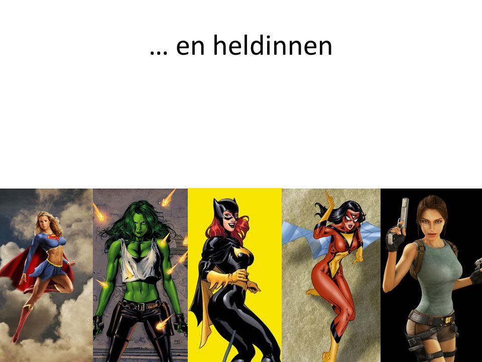 Voor al deze vrouwelijke superhelden geldt dat ze in een behoorlijk stereotype jasje worden gegoten.