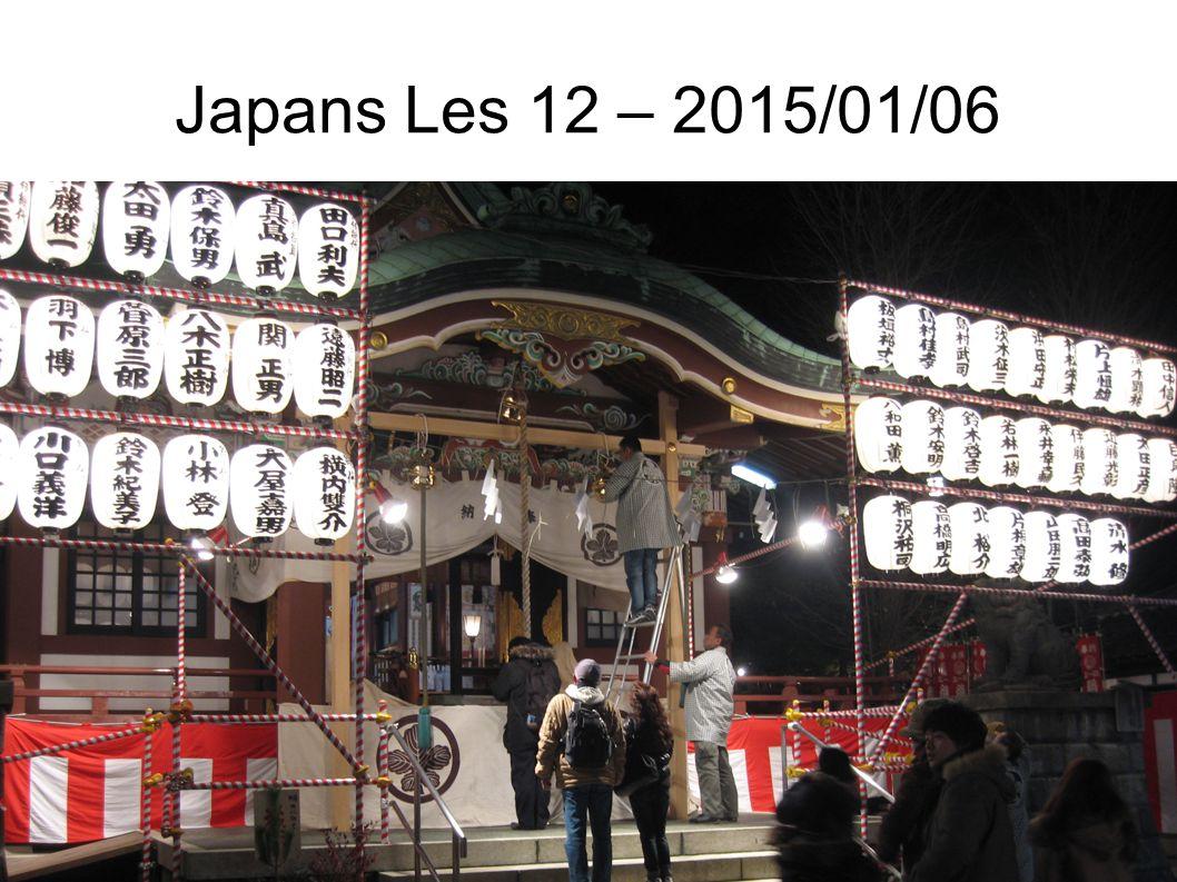 Japans Les 12 – 2015/01/06