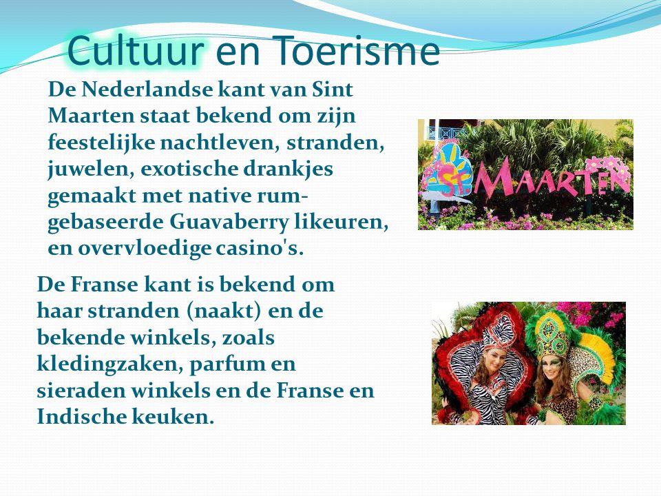 De Nederlandse kant van Sint Maarten staat bekend om zijn feestelijke nachtleven, stranden, juwelen, exotische drankjes gemaakt met native rum- gebaseerde Guavaberry likeuren, en overvloedige casino s.