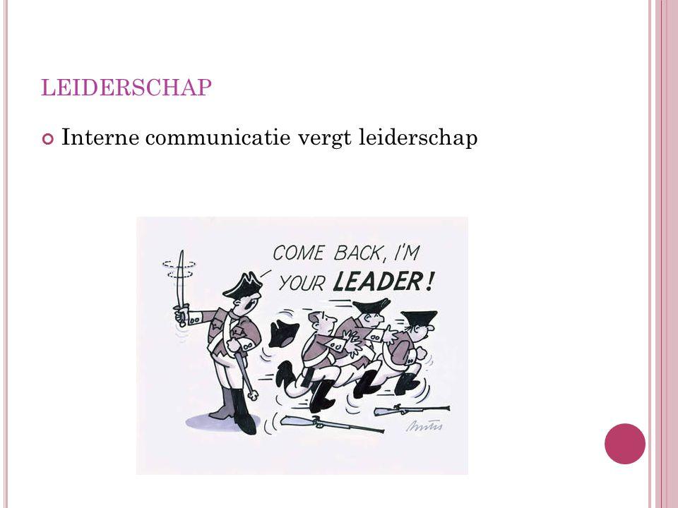 D IFFERENTIËREN IN DE OMGANG MET MEDEWERKERS # communicatiebehoeften van medewerkers Inhaken op de kracht van 1 persoon