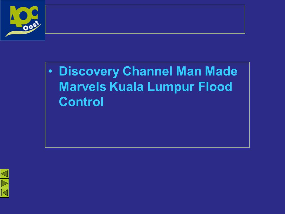 Discovery Channel Man Made Marvels Kuala Lumpur Flood Control