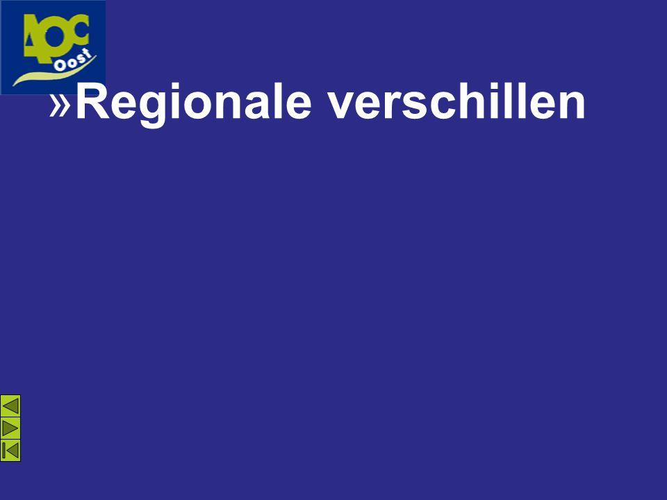 »Regionale verschillen