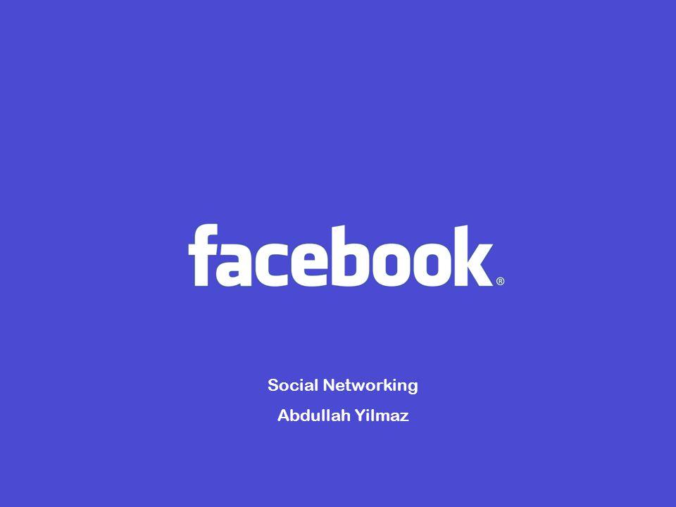 Een korte historie Uitgevonden door Marc Zuckerberg Was alleen voor Harvard-studenten normaal Augustus 2005: Facebook.com is gelanceert September 2005: Meer universiteiten willen facebook 2006: Facebook weigert een bod om over te kopen 2007: Facebook Platform werd gelanceert Oktober 2007: Microsoft koopt een deel van facebook
