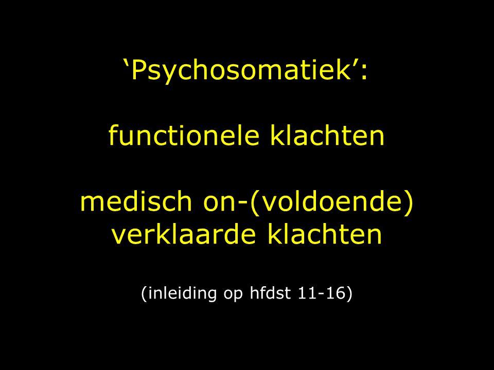 Reattributiemodel: fase 3 Nagaan of de patiënt nu zelf de link kan leggen tussen de klachten en zijn emoties of gedrag, en of uit de reacties van de patiënt op de interpretaties van de huisarts blijkt dat hij deze link bevestigt.