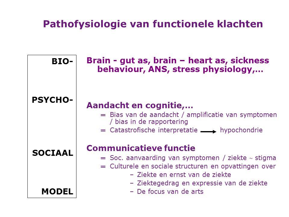 Bv: onwillekeurige bewegingen – dyskinesieën Bv: epilepsie, migraine,...