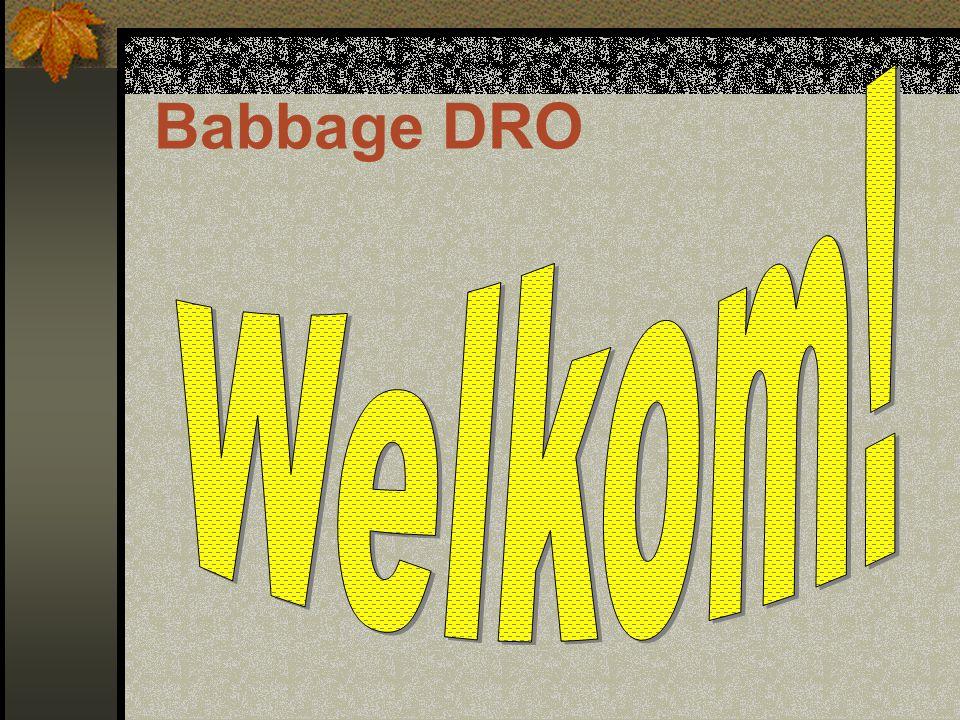 Babbage DRO