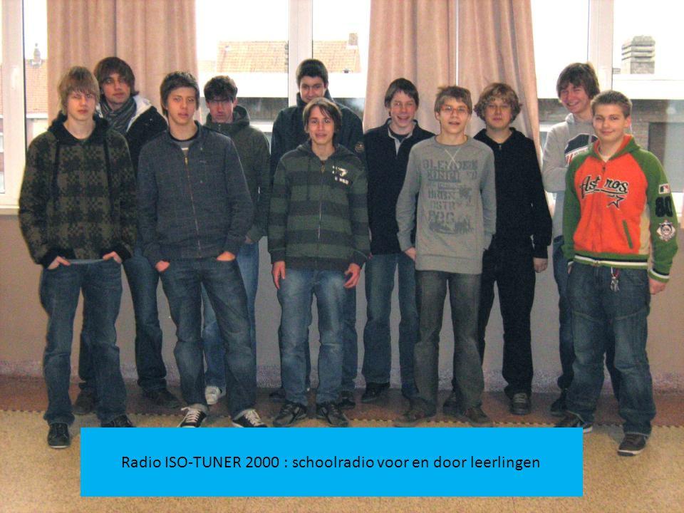Radio ISO-TUNER 2000 : schoolradio voor en door leerlingen