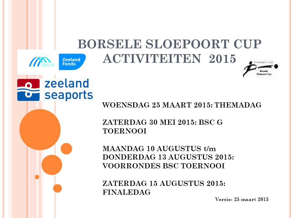 BORSELE SLOEPOORT CUP STER SPONSOR 2015 PROFILE TYRECENTER ZEELAND