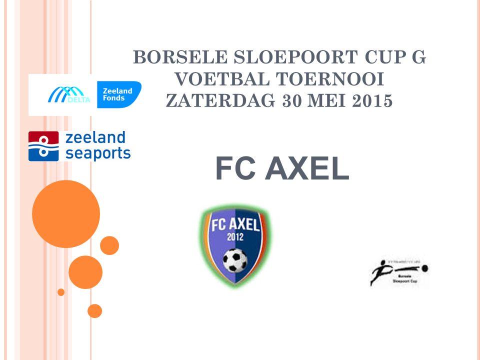 BORSELE SLOEPOORT CUP G VOETBAL TOERNOOI ZATERDAG 30 MEI 2015 WALCHEREN