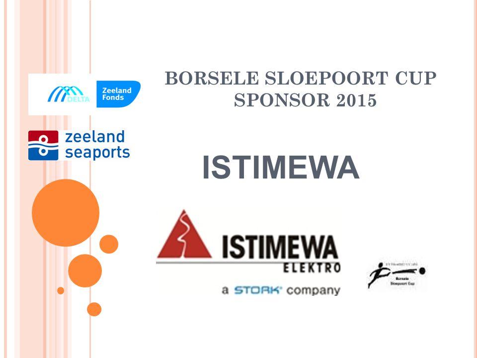 BORSELE SLOEPOORT CUP STER SPONSOR 2015 DE ZEEUWSE