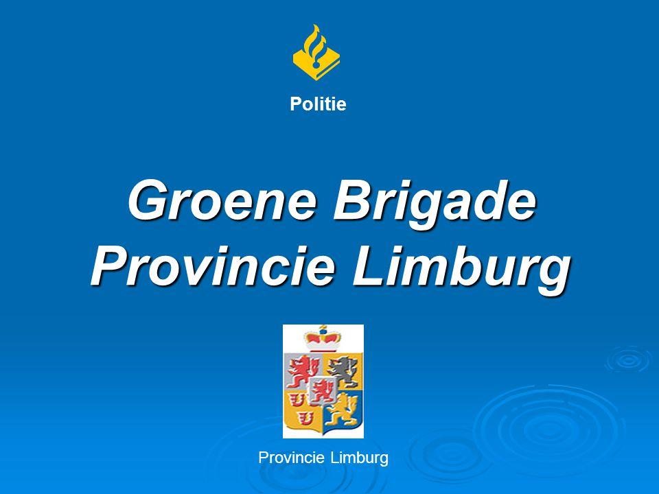 Groene Brigade Provincie Limburg Politie Provincie Limburg