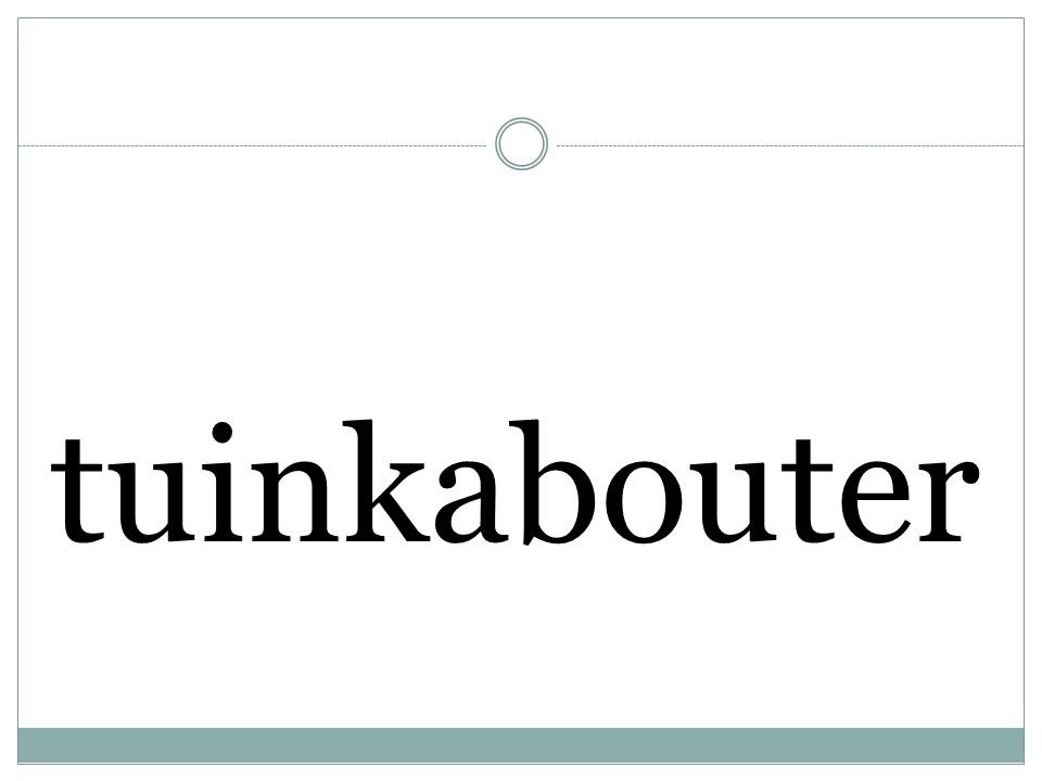 tuinkabouter