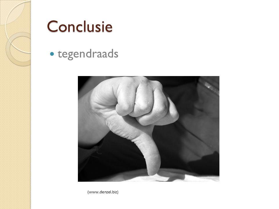 Conclusie tegendraads (www.denzel.biz)