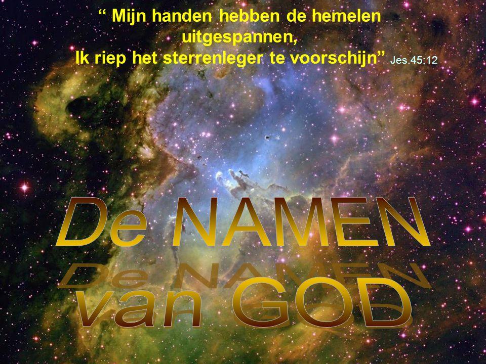 Niks Aliens. De Mens is het enige naar Gods beeld geschapen wezen in het Heelal.