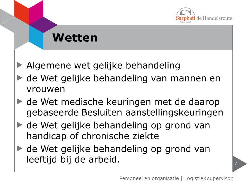 Algemene wet gelijke behandeling de Wet gelijke behandeling van mannen en vrouwen de Wet medische keuringen met de daarop gebaseerde Besluiten aanstel