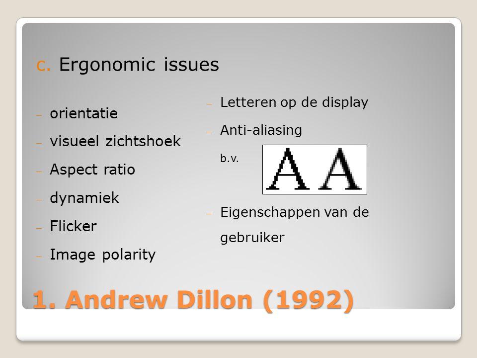  Letteren op de display  Anti-aliasing b.v.  Eigenschappen van de gebruiker 1.