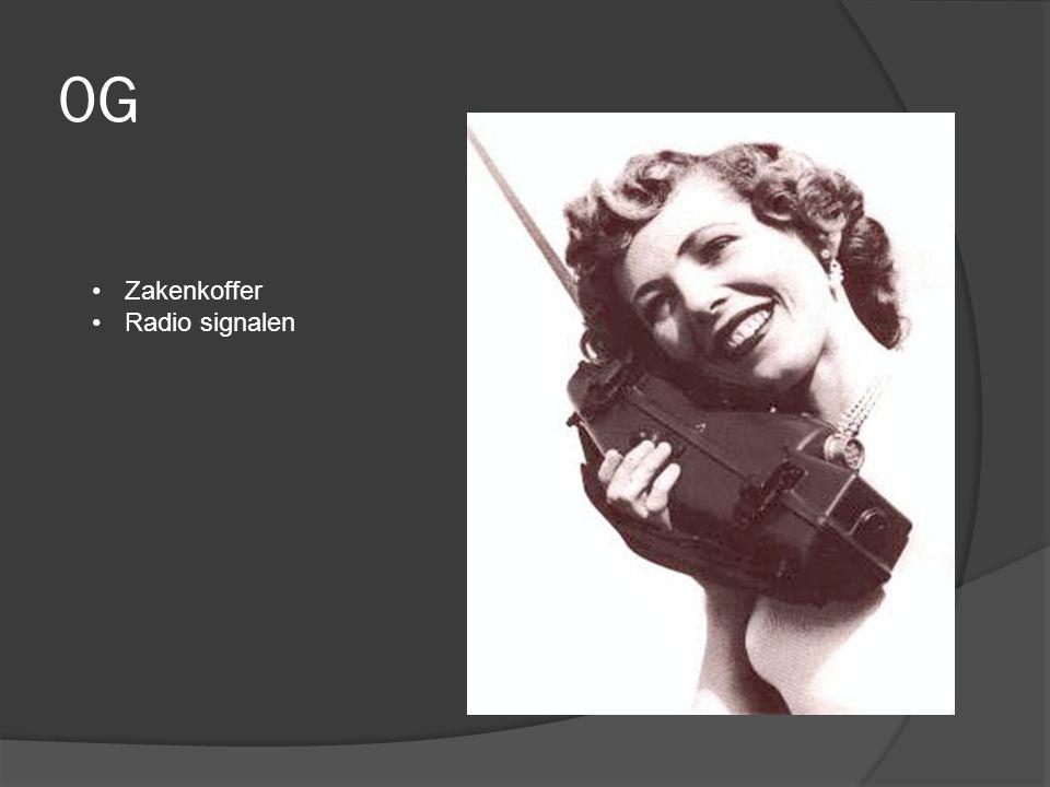 0G Zakenkoffer Radio signalen