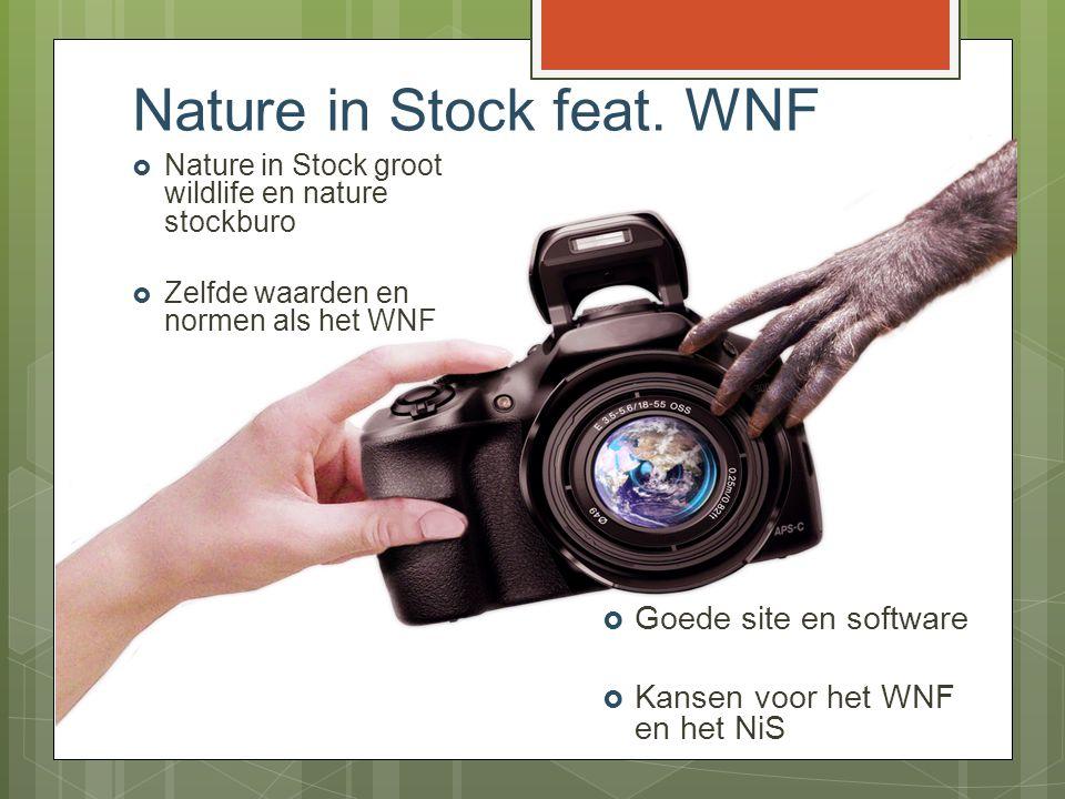 Voorbeeld uitingen WNF op natureinstock.com