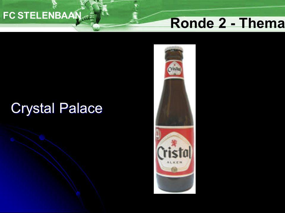 Crystal Palace FC STELENBAAN Ronde 2 - Thema