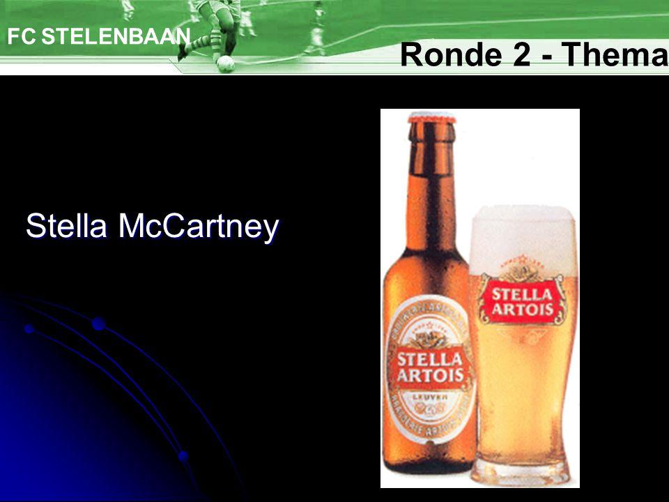 Stella McCartney FC STELENBAAN Ronde 2 - Thema