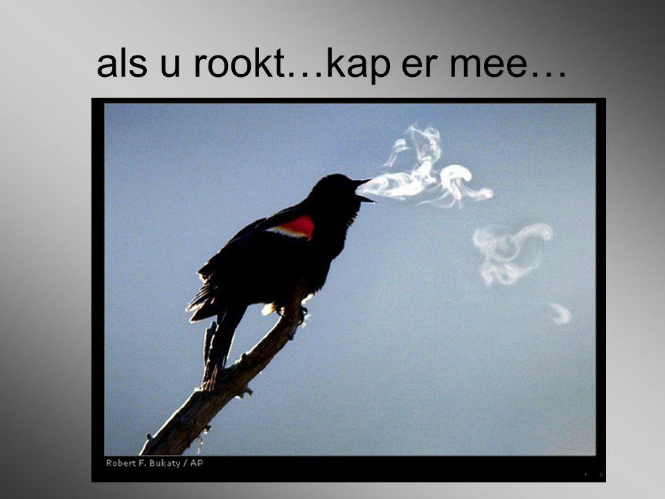 als u rookt…kap er mee…
