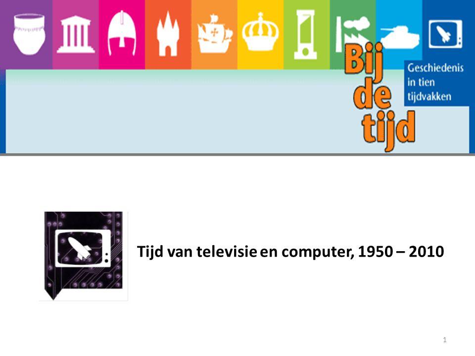Tijd van televisie en computer, 1950 - 2010 Agenda: Oriëntatieopdrachten 1 t/m 5 pagina 75 Hoe kwamen de bondgenoten toch zo snel tegenover elkaar te staan.