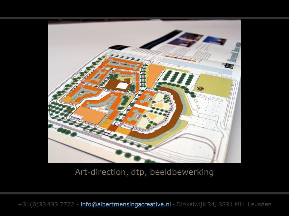 Art-direction, dtp, beeldbewerking +31(0)33 433 7772 - info@albertmensingacreative.nl - Dinkelwijk 34, 3831 MH Leusdeninfo@albertmensingacreative.nl