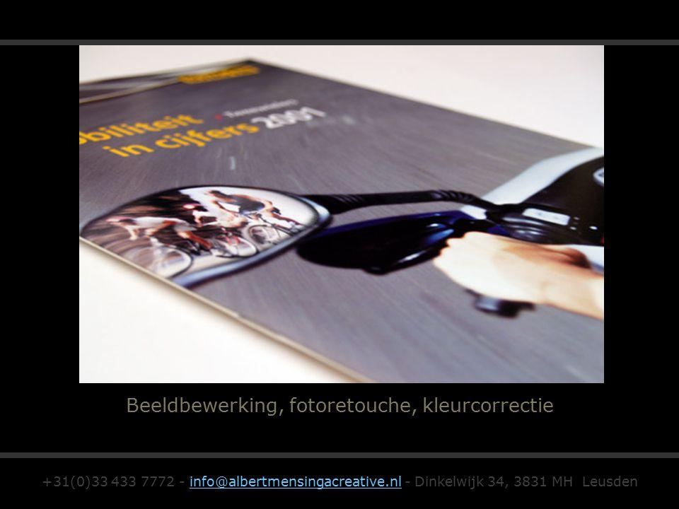 Beeldbewerking, fotoretouche, kleurcorrectie +31(0)33 433 7772 - info@albertmensingacreative.nl - Dinkelwijk 34, 3831 MH Leusdeninfo@albertmensingacreative.nl