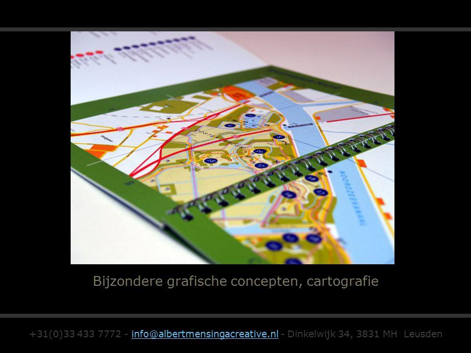 Bijzondere grafische concepten, cartografie +31(0)33 433 7772 - info@albertmensingacreative.nl - Dinkelwijk 34, 3831 MH Leusdeninfo@albertmensingacrea