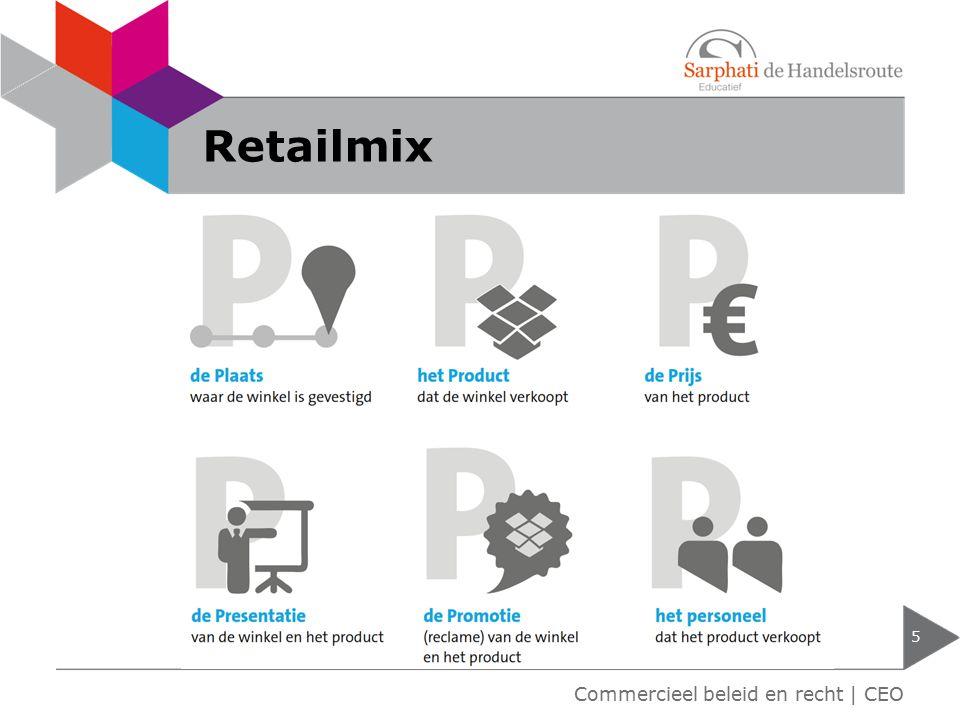 Retailmix 5 Commercieel beleid en recht | CEO