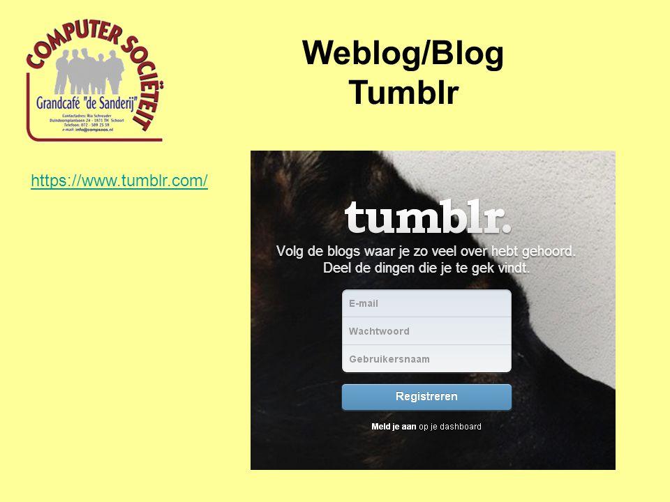 Weblog/Blog Hoe werk ik een Blog bij (via Google/Blogger).