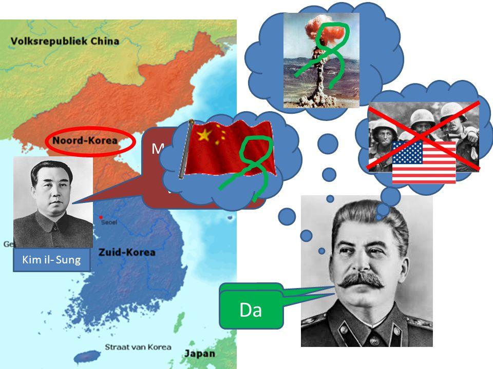 Kolonies in 1945 Na 1945 werd Korea van Japan afgenomen en verdeeld tussen de SU en VS: -Noord Korea (Democratische Volksrepubliek Korea) -Zuid Korea
