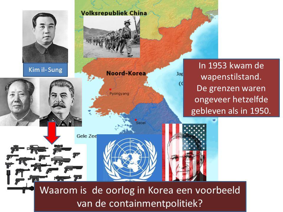 Kim il- Sung Mag ik ook Zuid Korea erbij veroveren? Njet Da