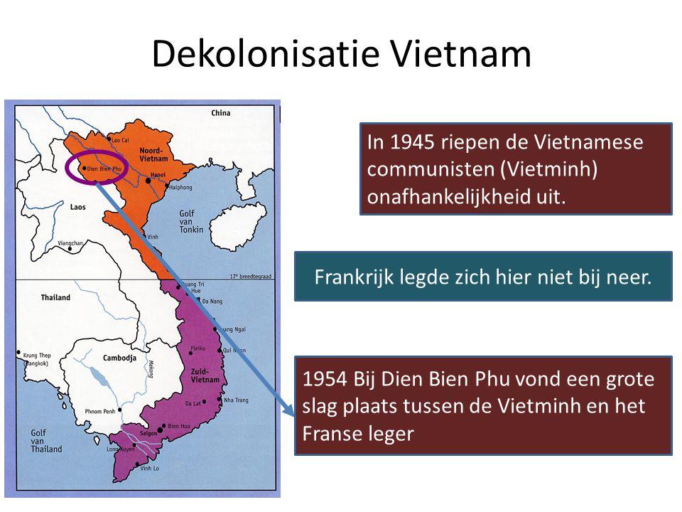 Zowel SU als VS waren tegen kolonialisme en voor vrijheid en onafhankelijkheid. Kolonies in 1945 Waarom paste de antikoloniale houding bij de containm