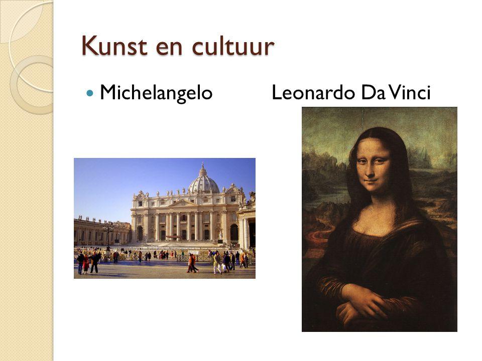 Kunst en cultuur Michelangelo Leonardo Da Vinci