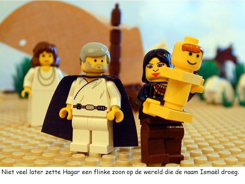 Niet veel later zette Hagar een flinke zoon op de wereld die de naam Ismaël droeg.