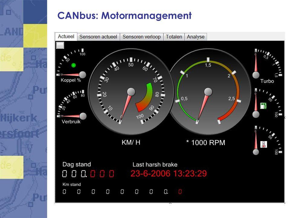 CANbus: Truck Trailer sensoren