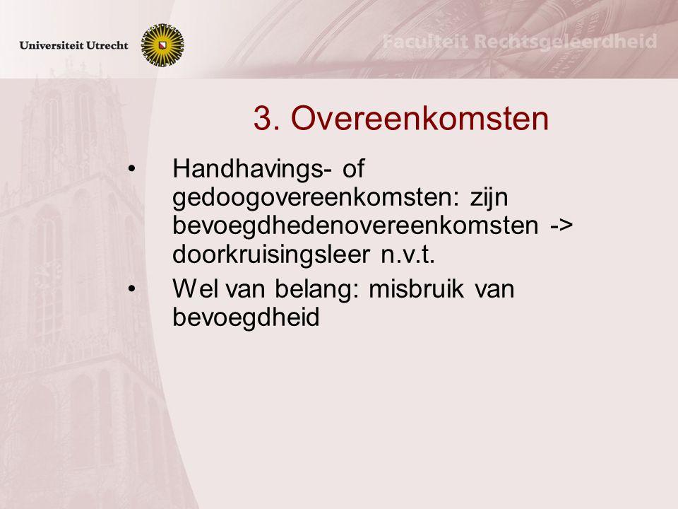 2. Inzet eigendomsrecht a.Onderscheid tussen 1. zaken met en 2. zaken zonder openbare bestemming ad 1. gewoon gebruik moet worden geduld; inbreuken be